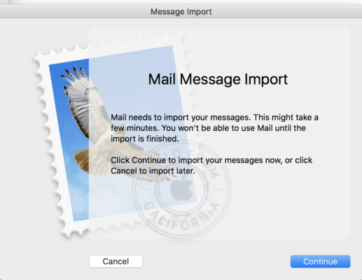 mail? mail to import?